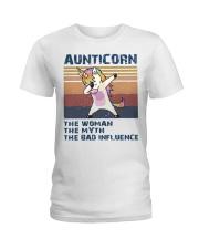Aunticorn Vintage Shirt Ladies T-Shirt thumbnail