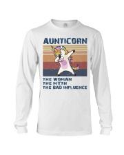 Aunticorn Vintage Shirt Long Sleeve Tee thumbnail