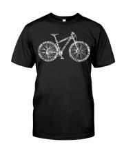 MTB Typo Design Classic T-Shirt front