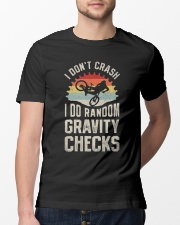 I Don't Crash I Do Random Gravity Checks Classic T-Shirt lifestyle-mens-crewneck-front-13