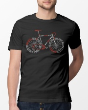 Bicycle Typography Classic T-Shirt lifestyle-mens-crewneck-front-13