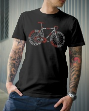 Bicycle Typography Classic T-Shirt lifestyle-mens-crewneck-front-6