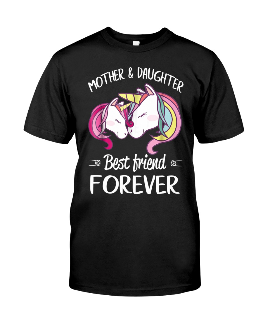 Mother and Daughter Best Friend Forever Classic T-Shirt