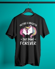 Mother and Daughter Best Friend Forever Classic T-Shirt lifestyle-mens-crewneck-front-3
