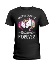 Mother and Daughter Best Friend Forever Ladies T-Shirt thumbnail