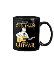 Never underestimate an old man with a guitar Mug thumbnail