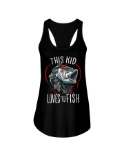 This Kid Loves To Fish Ladies Flowy Tank thumbnail