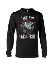 This Kid Loves To Fish Long Sleeve Tee thumbnail