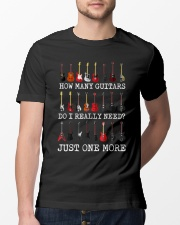 How many guitars do i need just one more Classic T-Shirt lifestyle-mens-crewneck-front-13