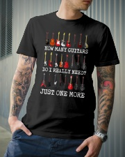 How many guitars do i need just one more Classic T-Shirt lifestyle-mens-crewneck-front-6