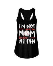 Im Not Just His Mom Im His Number 1 Fan Ladies Flowy Tank thumbnail
