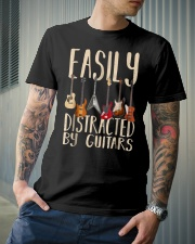 Easily distracted by guitars Classic T-Shirt lifestyle-mens-crewneck-front-6