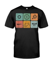 Vintage cycling design Classic T-Shirt front