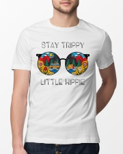 Stay Trippy Little Hippie Classic T-Shirt lifestyle-mens-crewneck-front-13