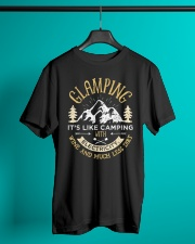 Glamping Definition Classic T-Shirt lifestyle-mens-crewneck-front-3