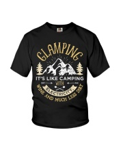 Glamping Definition Youth T-Shirt thumbnail