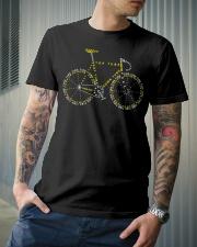 Bicycle anatomy design Classic T-Shirt lifestyle-mens-crewneck-front-6