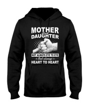 Mother and daughter always heart to heart Hooded Sweatshirt thumbnail