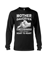 Mother and daughter always heart to heart Long Sleeve Tee thumbnail