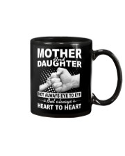 Mother and daughter always heart to heart Mug thumbnail