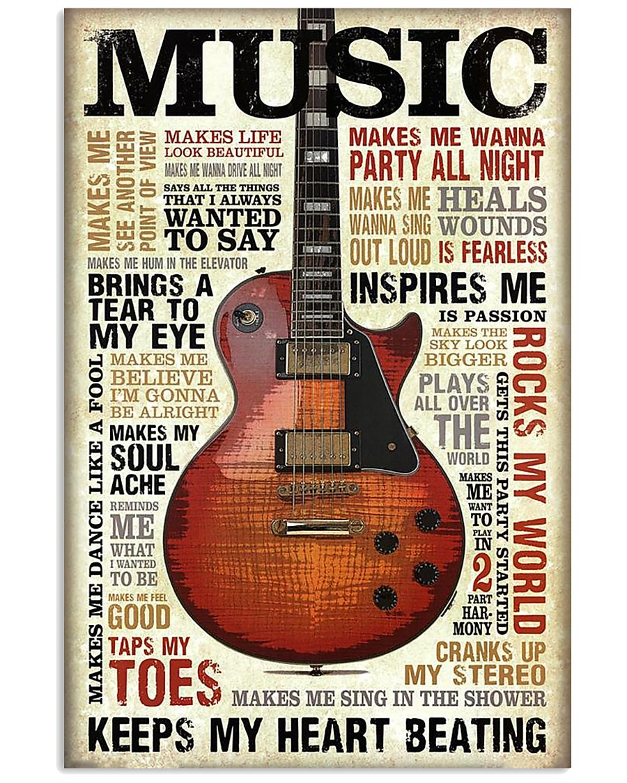 Special music design quotes 11x17 Poster