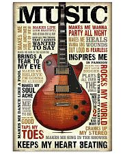 Special music design quotes 11x17 Poster front