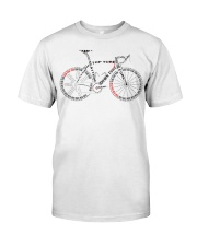 Bicycle anatomy Classic T-Shirt front