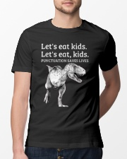 Punctuation Saves Lives Classic T-Shirt lifestyle-mens-crewneck-front-13