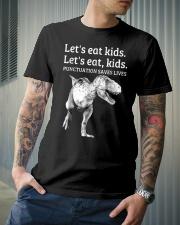 Punctuation Saves Lives Classic T-Shirt lifestyle-mens-crewneck-front-6