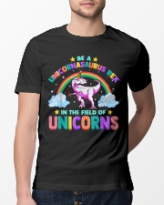 Be A Unicornasaurus Rex In The Filed Of Unicorns Classic T-Shirt lifestyle-mens-crewneck-front-13