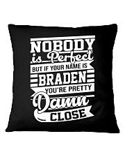 Braden n1 Square Pillowcase thumbnail