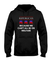 Republican - Because We Can't All Be On Welfare Hooded Sweatshirt thumbnail