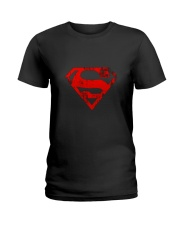 MAN OF STEEL LOGO Ladies T-Shirt thumbnail
