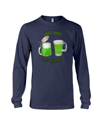 2020 St Patricks Day tee - Irish Green Beer mugs