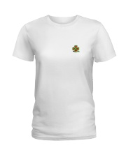 Our hearts beat for Ireland - St Patrick's Day Ladies T-Shirt thumbnail