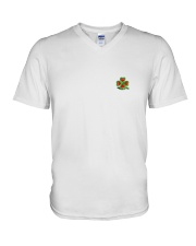 Our hearts beat for Ireland - St Patrick's Day V-Neck T-Shirt thumbnail