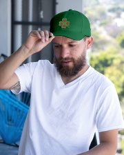 Our hearts beat for Ireland - St Patrick's Day Embroidered Hat garment-embroidery-hat-lifestyle-05