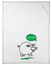"Get lucky  Small Fleece Blanket - 30"" x 40"" thumbnail"