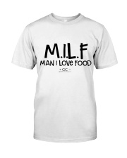 MILF MAN I LOVE FOOD Classic T-Shirt thumbnail