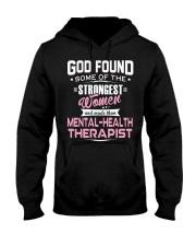 MENTAL-HEALTH THERAPIST Hooded Sweatshirt thumbnail