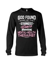 MENTAL-HEALTH THERAPIST Long Sleeve Tee thumbnail