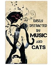 Music cats 11x17 Poster front
