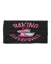 Baker Life Cloth face mask front