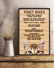 Toilet Rules 11x17 Poster lifestyle-poster-3