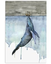 Whale and Boat 11x17 Poster front