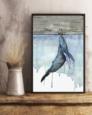 Whale and Boat 11x17 Poster lifestyle-poster-3