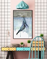 Whale and Boat 11x17 Poster lifestyle-poster-6