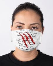 Freddy Krueger Cloth face mask aos-face-mask-lifestyle-01