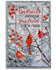When Cardinals appear 11x17 Poster front