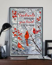 When Cardinals appear 11x17 Poster lifestyle-poster-2